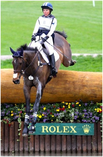 Jan Byyny & Syd Kent    - Photo from Eventing Nation -