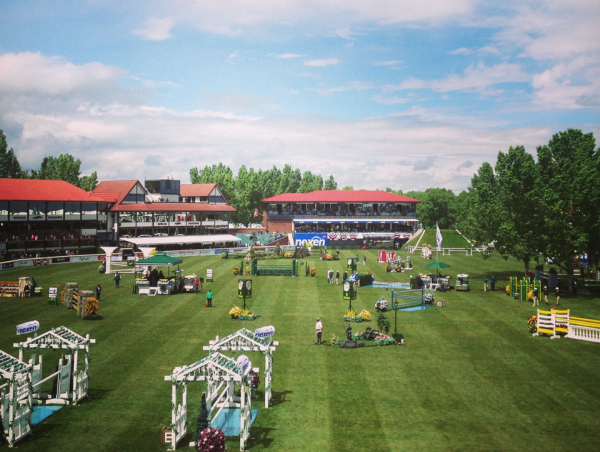 The famous Spruce Meadows Derby field.