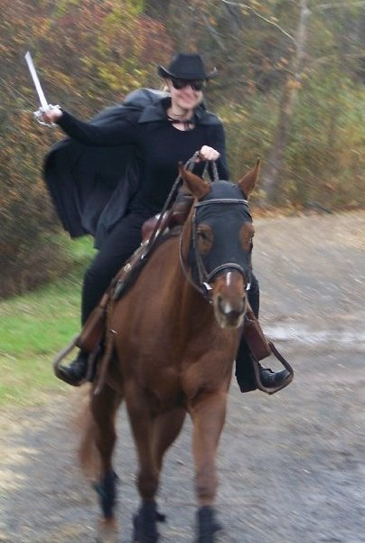 Kristina u0026 Cocoa : halloween costume for horses  - Germanpascual.Com
