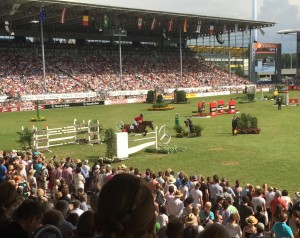 Lauren Hough and Ohlala in Rolex Grand Prix Jump-Off