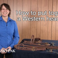 How to put together a Western headstall_thumb