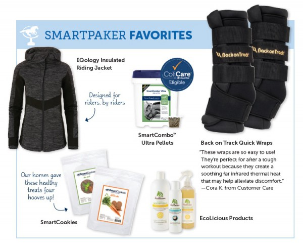 SmartPaker Favorites section